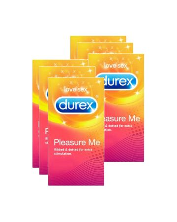 Durex Pleasure Me Condoms 6's