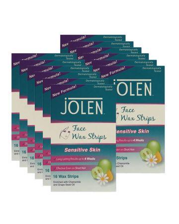 Jolen Facial Strip Wax 16's