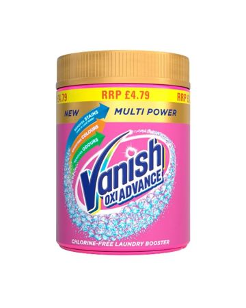 Vanish Oxi Advance Stain Remover 470g (PM£4.79)