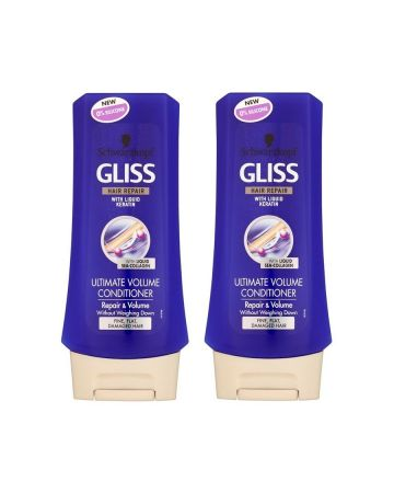 Schwarzkopf Gliss Conditioner Ultimate Volume 200 Ml