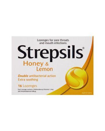 Strepsils Honey and Lemon