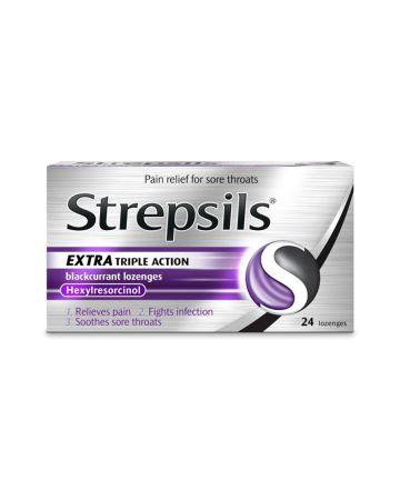 Strepsils  Blackcurrant Triple Action