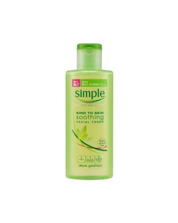 Simple Kind to Skin Soothing Facial Toner 200ml