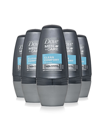 Dove Mens Roll On Clean Comfort 50ml