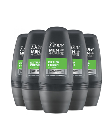 Dove Mens Roll On Extra Fresh 50ml