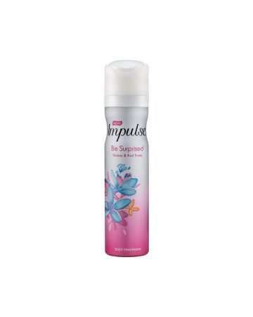 IMPULSE BODY SPRAY BE SURPRISED 75ML