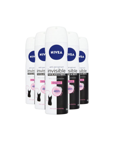 Nivea Female Deodorant Black & White 150ml