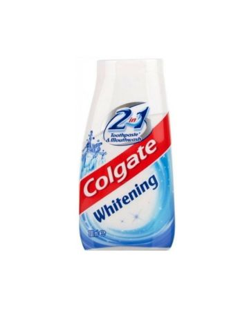 Colgate 2in1 Whitening Toothpaste & Mouthwash 100ml