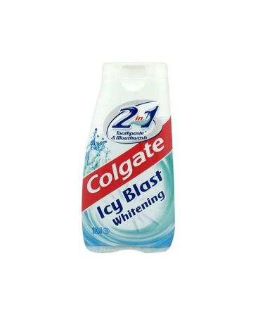 Colgate 2in1 Icy Blast Whitening Toothpaste & Mouthwash 100ml