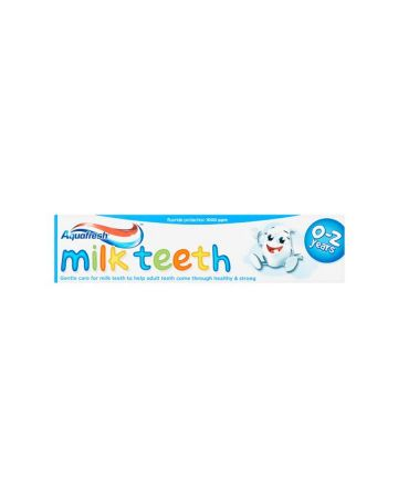 Aquafresh Toothpaste Milkteeth 50ml