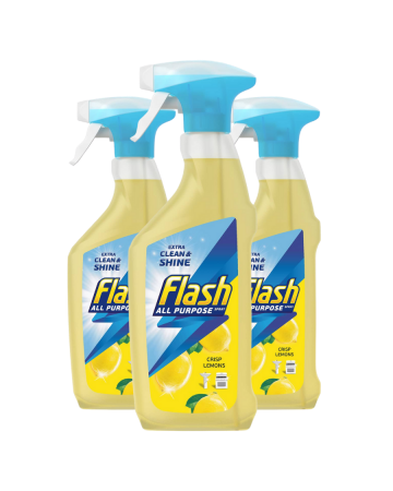 Flash All Purpose Spray Lemon 469ml
