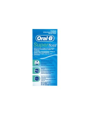 ORAL B SUPERFLOSS 50'S
