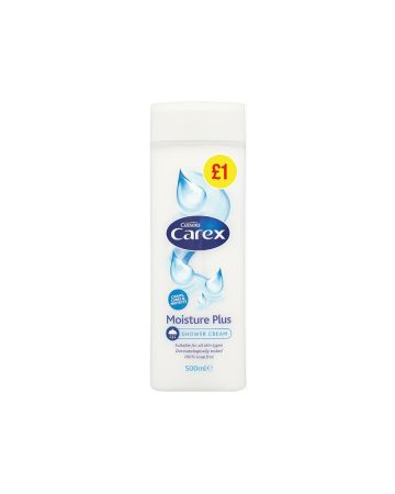 Carex Shower Cream Moisture Plus 500ml (PMP £1.00)