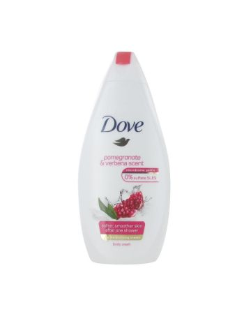 Dove Body Wash Pomegranate & Verbena Scent 250ml