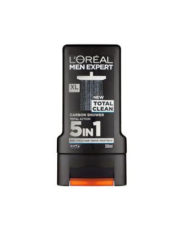 L'OREAL MENS SHOWER GEL TOTAL CLEAN 300ML
