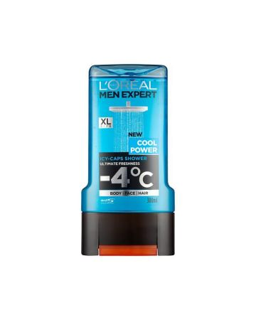 L'Oreal Mens Shower Gel Cool Power 300ml