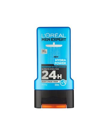 L'Oreal Mens Shower Gel Hydra Power 300ml