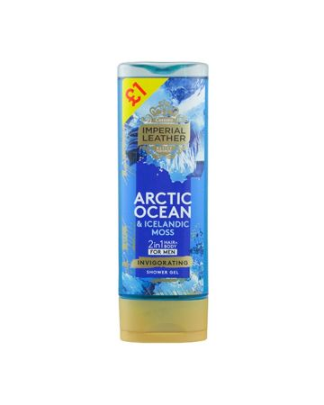 Imperial Leather Mens Shower Gel Arctic Ocean 250ml (PM £1.00)