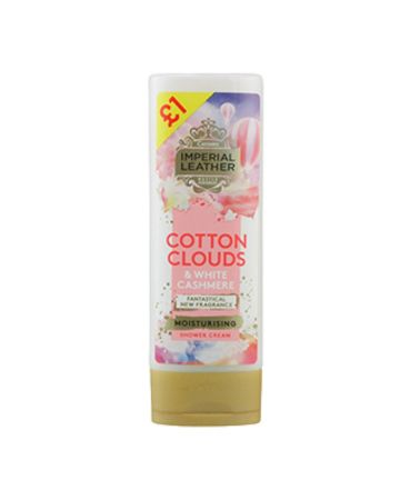 Imperial Leather Cotton Clouds & White Cashmere Moisturising Body Wash 250ml (PM £1.00)