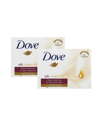 Dove Soap Silk Cream Oil 100g