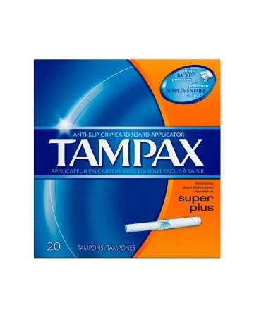 Tampax Super Plus 20s