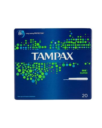 Tampax Super 20s