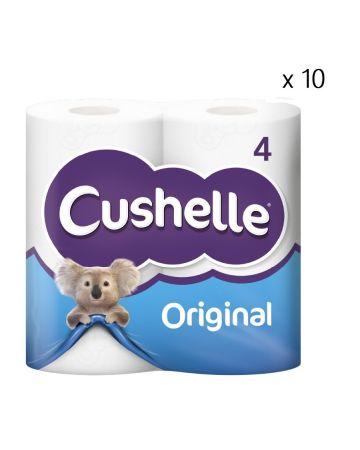 Cushelle Toilet Roll White 4s
