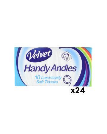 Velvet Handy Andies Pocket Pack