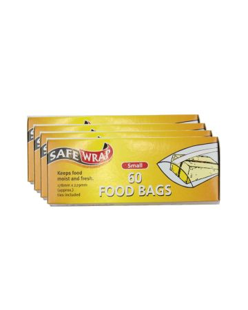 Safewrap Food Bags 60s