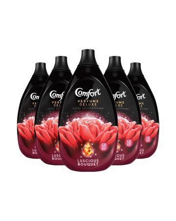 Comfort Perfume Deluxe Fabric Conditioner Luscious Bouquet 870ml