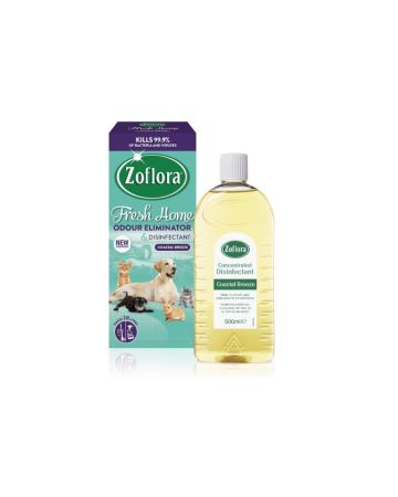 Zoflora Disinfectant Fresh Home Odour Eliminator Coastal Breeze 500ml