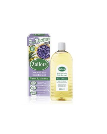 Zoflora Disinfectant Violet & Mimosa 500ml