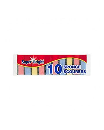 Superbright Sponge Scourer 10s
