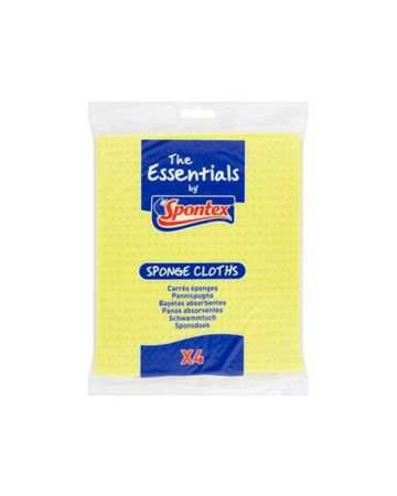 Spontex Sponge Cloth 4s