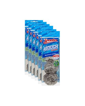 Spontex Tough Scourer 4s