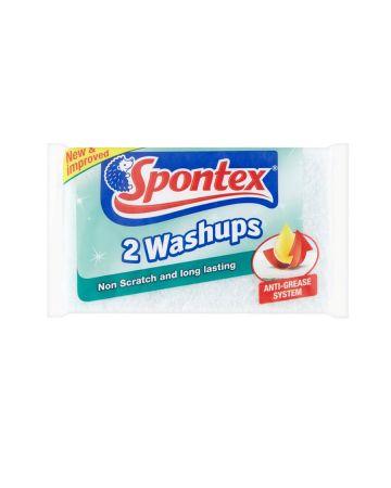 Spontex Non Scratch Washups 2s