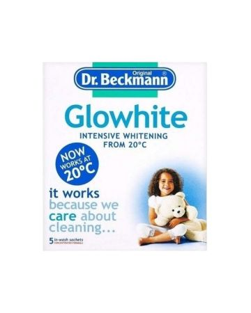 Dr Beckmann Glowhite with Stain Remover 5 x 40g sachets