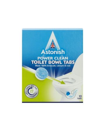 Astonish Power Clean Toilet Bowl Tabs 10's