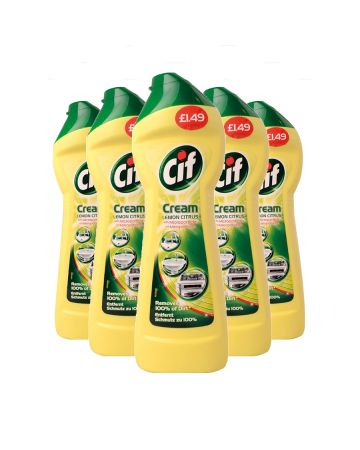 Cif Cream Lemon 250ml (pm £1.49)