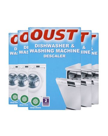 Oust Dishwasher And Washing Machine Descaler 2s