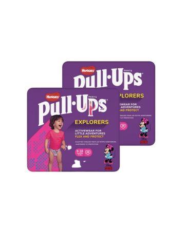 Huggies Pull Ups Pants Girl Explorers 9-18 Months 28s