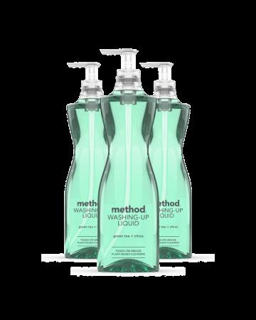 Method Washing Up Liquid Green Tea & Citrus 532ml