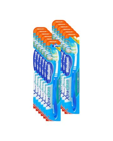 Wisdom Xtra Clean Toothbrush Medium
