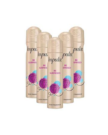 Impulse Body Spray Be Surprised 75ml
