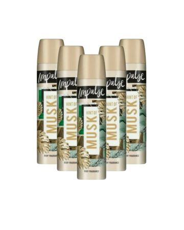 Impulse Body Spray Musk 75ml