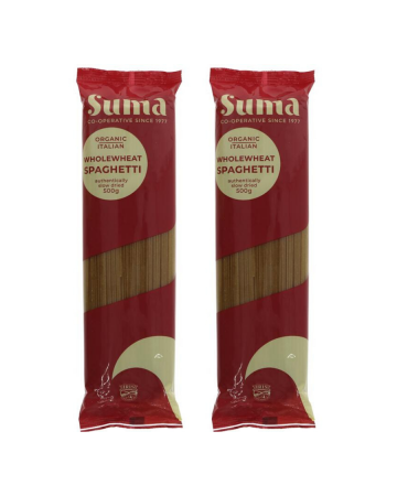 Suma Organic Wholewheat Spaghetti 500g