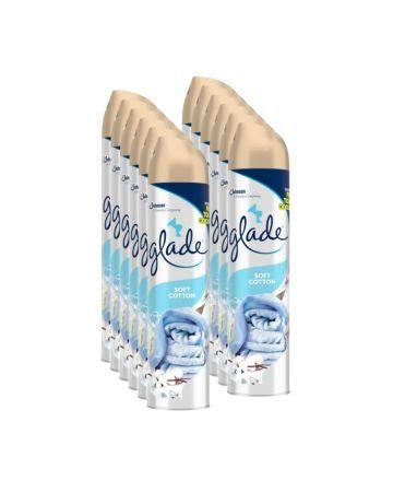 Glade Air Freshener Silver Soft Cotton 300ml