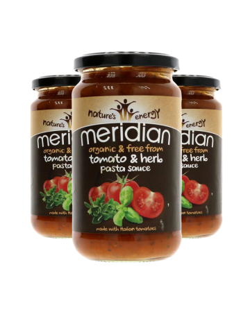 Meridian Organic Tomato And Herb Pasta Sauce 440g