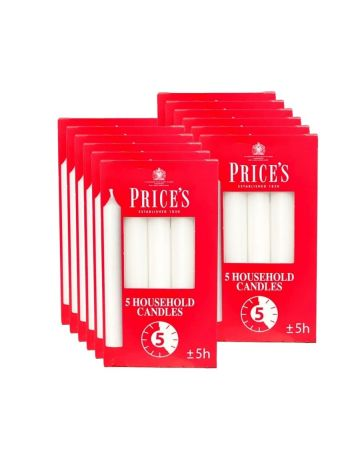 Prices Household Candles 5's