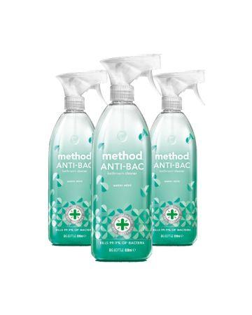 Method Anti-bac Bathroom Cleaner Water Mint 828ml